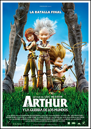 Arthur 3: La guerra de los mundos